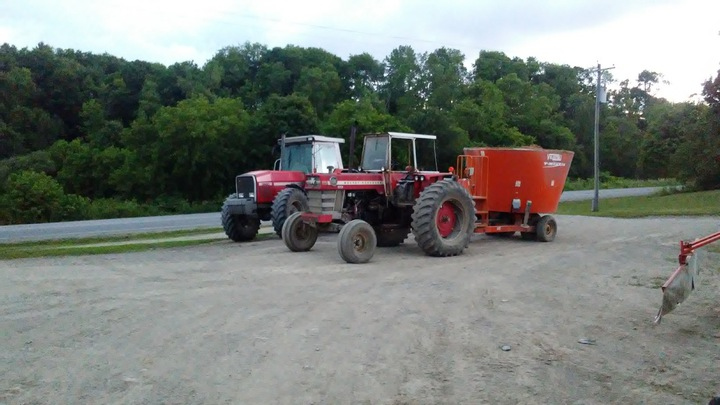 MF 1100 and 1130 Serial Number 9B     - Yesterday's Tractors