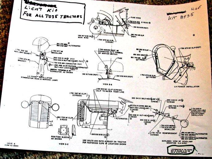 Mf 35 Wiring Diagram