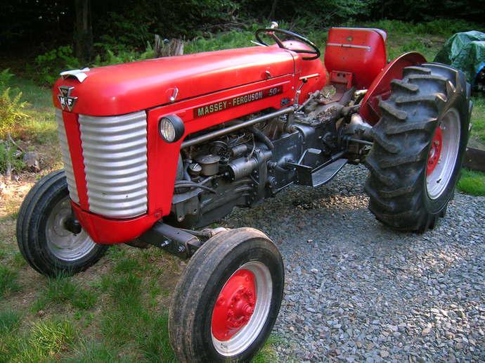 Massey-Ferguson MF 50 MF50 Tractor Complete Decal Set US Made