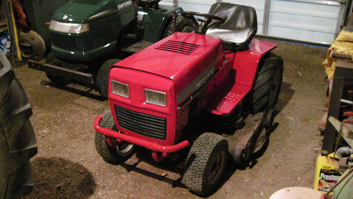 MTD Lawn tractor transaxle lube - Yesterday's Tractors