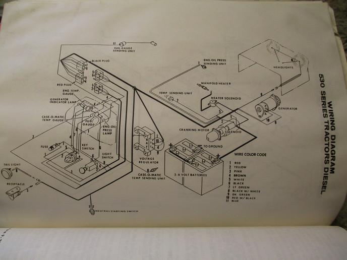 Need 530 Wiring Diagram