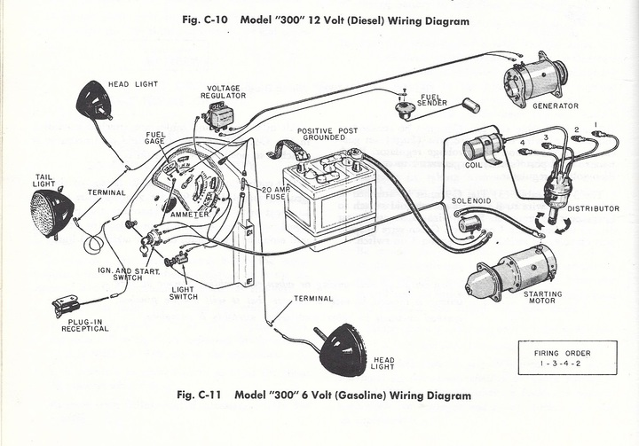 wiring diagram for case vac tractor 311 case round nose yesterday s tractors  311 case round nose yesterday s tractors