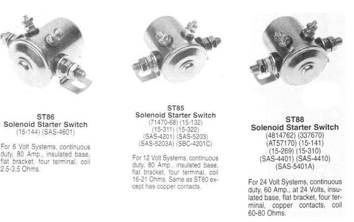 St85 Solenoid Wiring Diagram