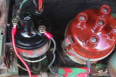 ign8 yesterday's tractors upgrading an oliver super 55 electrical system 6 volt coil wiring diagram at soozxer.org