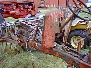Nissan Engine in Tractor