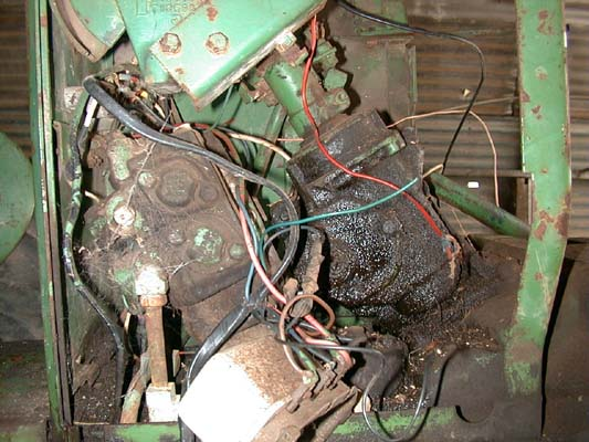 rats nest of wiring