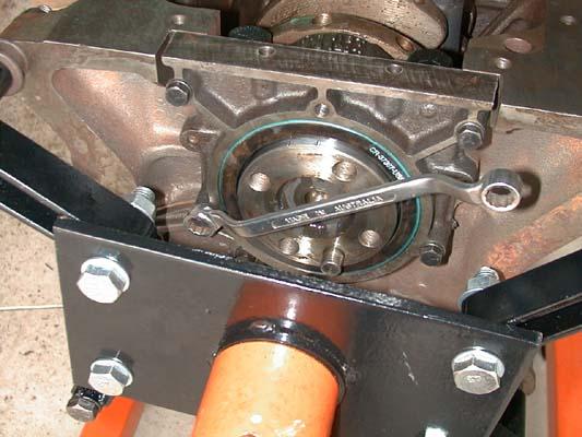 installing rear seal