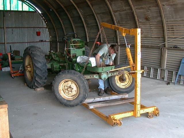looks like tractor again