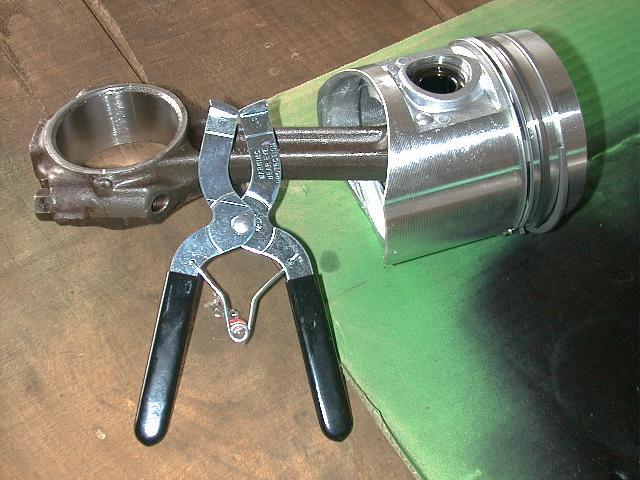shiny new piston