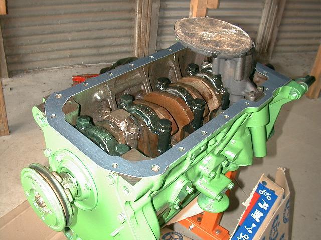 installing oil pump