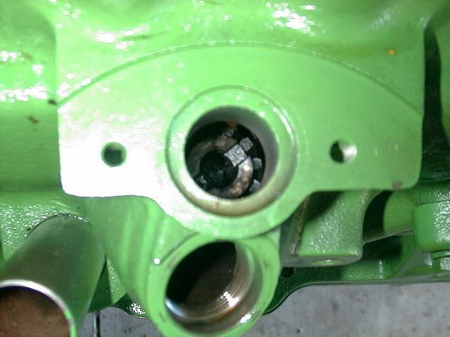 diesel pump 90 degrees off