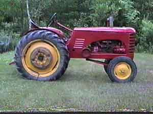 Massey Harris 22 Serial 22GS 5364