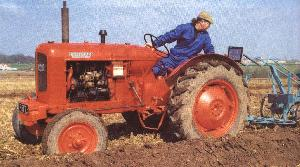 Picture of a Nuffield Tractor
