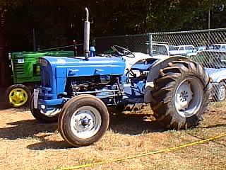 Antique Tractors - 1967 Ford Super Dexta Picture on