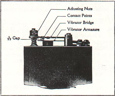 contact points and breaker plate
