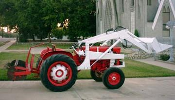 antique tractors 1962 international harvester model 404 picture rh yesterdaystractors com International 404 Tractor Farm International Harvester 504 Tractor