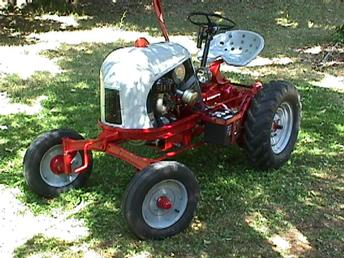 Antique Tractors Ottawa Mule Team Tractor Model 15a