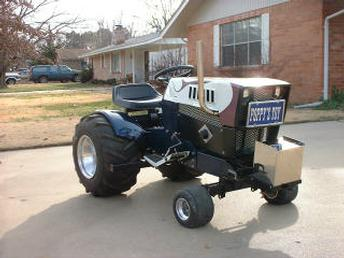 Antique Tractors 1975 Craftsman Garden Pulling Tractor Picture