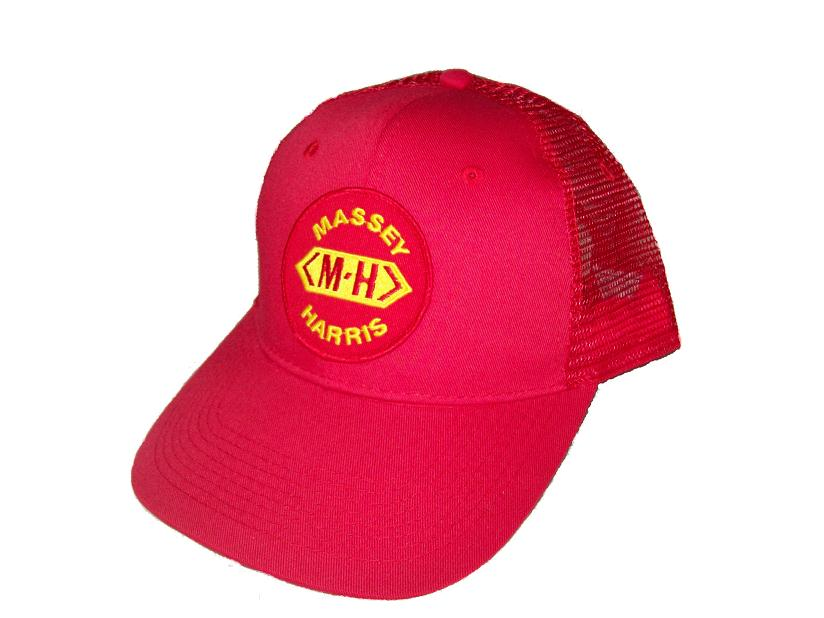 MHRM Massey Harris Red Mesh hat MHRM