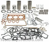 photo of Complete Overhaul Kit For Dexta with 3-cylinder 144 or 152 Perkins engines. For 1962 and prior, with no lip on sleeves. Contains complete gasket set, pistons, liners and ring sets, rod bearings (available in Std., .010 inch, .020 inch or .030 inch). Main bearings (available in Std., .010 inch, .020 inch or .030 inch). Intake and exhaust valves, springs, guides and locks.