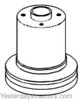 Oliver 550 Water Pump Pulley