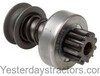 photo of Starter drive, services Delco starters: 1107228, 1107275, 1107720, 1108642, 1107229, 1107543, 1107744. For tractor models 404, 460, 504, 560, 606, 656, 660, 706, 2404, 2504, 2606, 2656, 2706. 9 teeth.