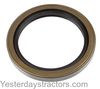 photo of This rear axle oil seal is for tractors with brake drums.  Measures 2 3\4 inches inside diameter, 3 5\8 inches outside diameter and 19\32 inches wide. For tractor models TO35, 135, 230, 235, 240, 35, 50.