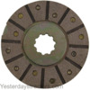 photo of This bonded lined brake disc fits the following tractor models: 354, 364, 384, 424, 444, 2300, 2424, 2444, 3414(serial number 3516 and up), and 3444. It measures: 6 1\2 inches x 3 1\2 inches. It has 10 splines and a 1.62 inch spline diameter. It replaces part number 395161R1.  Priced each disc.