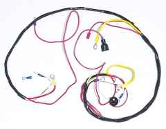 Ford 601 Wiring Harness, 6 Volt System - 310996 Ford Wiring Harness on ford cigarette lighter, ford ac clutch, ford temp sensor, ford radio display, ford coil harness, ford parking assist sensor, ford abs unit, ford vacuum switch, ford engine harness, ford key switch, ford battery cover, ford super duty hub conversion, ford heater switch, ford computer harness, ford rear bumper bracket, ford vacuum harness, ford fuel pump assembly, ford duraspark harness, ford air bag module, ford gas pedal,