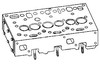 photo of For tractor models 175, 180, 20, 255, 265, 275, 31, 40 all with Perkins A4.236 and A4.248 Diesel Engines. Cylinder head includes valves, guides and springs, assembled. Replaces ZZ080054, 743112M1.
