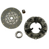 photo of For tractor models A, B, C, Super A, Super C, 100, 130, 140, 200, 230, 240, 404, 2404 all with Rockford Style Clutch. New disc and pressure plate assembly (with narrow style fingers). Spring disc, 9 inch disc with 6 splines 1 1\4 inch hub. New release bearing and new pilot bushing and alignment tool (not shown). This kit will replace the early and late style. If you have the graphite bearing, you will also need the new style bearing sleeve and you can order as part number 375493K-Sleeve. Replaces 375493R91, 56631DB, IHS958.