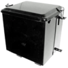 photo of Battery Box, with lid. Inside dimensions: 7-1\8 inches wide x 9 inches tall x 9 inches long. For A, B, BN. Replaces OEM number 50943DX.