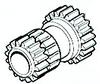 Oliver White 2-60 Reverse Gear, Idler Shaft, Transmission
