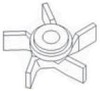 photo of For tractor models 400, 450, M Super M. This is the impeller only, Does NOT include shaft or thrust washer.