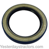 photo of This�bull pinion shaft bearing retainer oil seal has a 2.125 inch Inside Diameter, a 3.335 inch Outside Diameter and is .438 inch wide. There are two used per tractor. It Fits:�C. Replaces: 351108R91, 70201C1