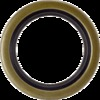 photo of This Front Crankshaft Seal is 2.01 inches outside diameter. If you need one that is 1.9375 inches outside diameter, you need part number 70225806 which we do not have. For tractor models (60H, B, B15, C, CA, IB all with engine serial number CE-177730 and up), W25, WC, WD, WF.