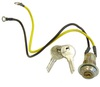 photo of Ignition Switch, with Keys. For tractor models with distributor ignition. Models: B, C, CA, D14 To Sn: 9500, WD, WD45.  Replaces 225310, 70225310