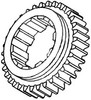 photo of For tractor models D17, 170, 175. First and Second Mainshaft Gear.