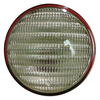 photo of Red backed, work\tail light, 4-1\2 inch diameter. For tractor models 160, 170, 175, 180, 185, 190, 190XT, 200, 210, 220, 5040, 6040, 7030, 7050, D10, D12, D15, D17, D19, D21.