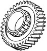 photo of For model 175. Second mainshaft Gear.