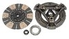 photo of Clutch kit, contains 11 inch remanufactured pressure plate assembly, 10 spline, 1-5\8 inch hub, 3 springs, 11 inch new disc, 10 spline, 1-1\8 inch hub, 6 pads, new release and pilot bearings. Tractors: 384, 454, 464, 484, 485, 574, 584, 585, 674, 684, 784, 884, 2400A, 2400B, 2500A, 2500B, 3500A. NO CORE REQUIRED.