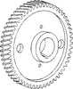 photo of 56 tooth. For tractor models 1100, 1130, 1745, 180, 184-4, 220, 255, 2640, 2675, 270, 2705, 274-4, 282, 283, 285, 294-4, 30, 300, 3050, 3060, 3070, 3505, 3525, 3545, 3630, 399, 470, 50C, 50D, 50E, 50H, 60, 6500, 670, 699, 80, 850, 860, (165, 168, 175, 178, 185, 188, 265, 275, 290, 565, 575, 590, 690 all with engine A.212, A4.236 or A4.248). Replaces 31171353.