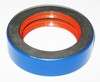 photo of Rear axle or differential carrier plate oil seal. 3.198 inch outside diameter, 2.125 inch inside diameter, .812 inch width. For tractors: MF65, MF85, Super 90, MF135 orchard, MF150, MF165, MF175, MF180 industrials: 30, 40, 50, 203, 205, 302, 304 also MF1080, MF1085, MF235 orchard, MF255, MF275, MF285 with dry brakes. Used as clutch bearing support assembly seal on tractors: MF2675, MF2705, MF2745, MF2775, MF2805. For 10, 126, 130, 220, 224, 228.