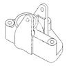 photo of Brake lever bracket replaces 1667224M1, 1860972M2. For tractor models 1085, 135, 165, 165 UK, 175, 180, 20E, 20F, 235, 240, 245, 250, 253, 255, 261, 263, 265, 271, 275, 275 UK, 281, 282, 283, 283 UK, 285, 290, 30, 30B, 30D, 30E, 31, 40, 40B, 40E, 50A, 50C, 50D. Different suppliers have different parts for the same part number. VERIFY PICTURE LOOKS LIKE YOUR OLD PART.
