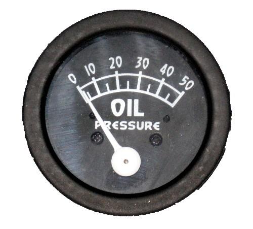 Antique Tractor Gauges : Ford oil pressure gauge lb black for n