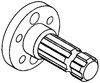 photo of 5.310  long, 6 spline, bolt on hub. For tractor models 3010, 4010.
