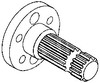 photo of 4.275  long, 21 spline, bolt on hub. For tractor models 3010, 4010.