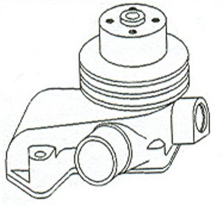 John Deere 4520 Water Pump