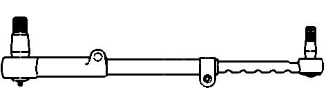 AR54637 Tractor Tie Rod Complete John Deere