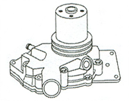 1939 Chevy Water Pump